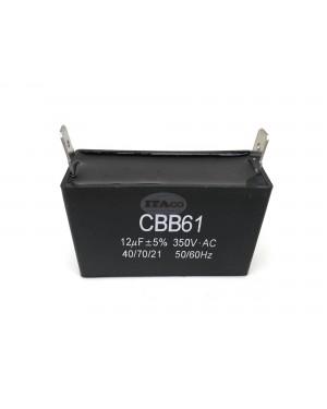 11.5uF 12uF 12.5uF Generator Capacitor Generator AVR Cbb61 12 Uf 50 60hz 250v 350v 450v Ac Pin Style