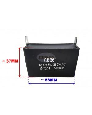 12uF Generator Motor Capacitor Condenser 11.5uF 12 uf CBB61 12.5uF 50 60 Hz 350V 350 VAC UL AVR
