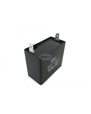 24uF Generator Motor Engine Capacitor 25uF 23uF CBB61 Condenser 50/60 Hz 350V 350 VAC UL AVR