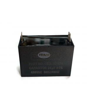 24uF Generator Capacitor Condenser Generator CBB61 24 uF 50 60Hz 400 - 450 V 450VAC Square Motor Diesel Engine