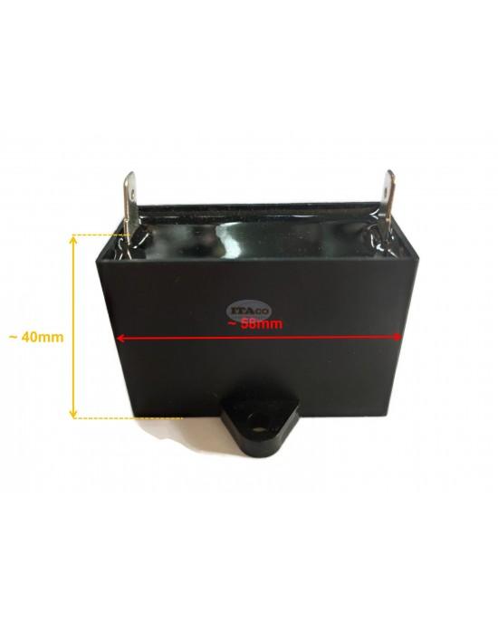 24uF Generator Capacitor Condenser Generator CBB61 24 uF 50 60Hz 400 - 250V - 450V AC Square Motor Diesel Engine