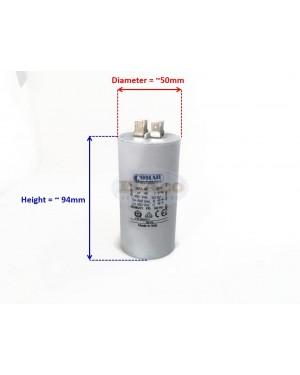 Made in Italy Motor Electrolytic Comar Condenser Capacitor MKA 42.75UF ~ 45UF ~ 47.25UF 43uF 44uF 46uF 47uF 450V Vac