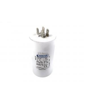 Made in Italy Motor Electrolytic Comar Condenser 55UF Capacitor MKA 55 UF - 52.3UF ~ 57.75UF 53UF 54UF 56UF 57UF 450V Vac