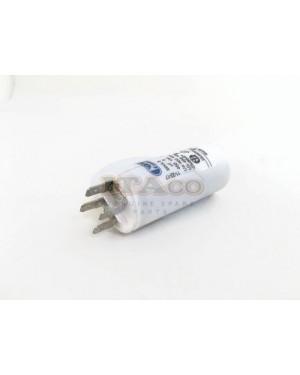 Made in Italy Motor Electrolytic Comar Condenser Capacitor 8UF -8.4UF -7.6UF 8 UF 8.2 7.9 450V Vac