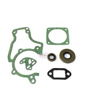 Overhual Gasket Oil Seals Set Kit 1119 007 1050 For STIHL Chainsaw 038 MS380 MS381AV/Super/Magnum