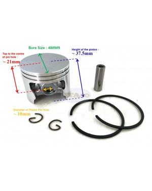 Piston Kit Ring Set Assy 1125 030 2001 for STIHL 034 036 MS340 MS360 Kolben 48MM Chainsaw Motor Engine