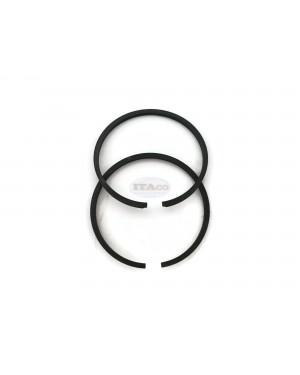 2pcs Piston Rings Ring Set 31mm x 1.5mm for Tanaka TBC-230, TCP-210 TBC-220 31mm Replace 041-00601-20 Shindaiwa T20, Mitsubishi TL-23 - Rep A101000230 chainsaw mistblower brushcutter Engine