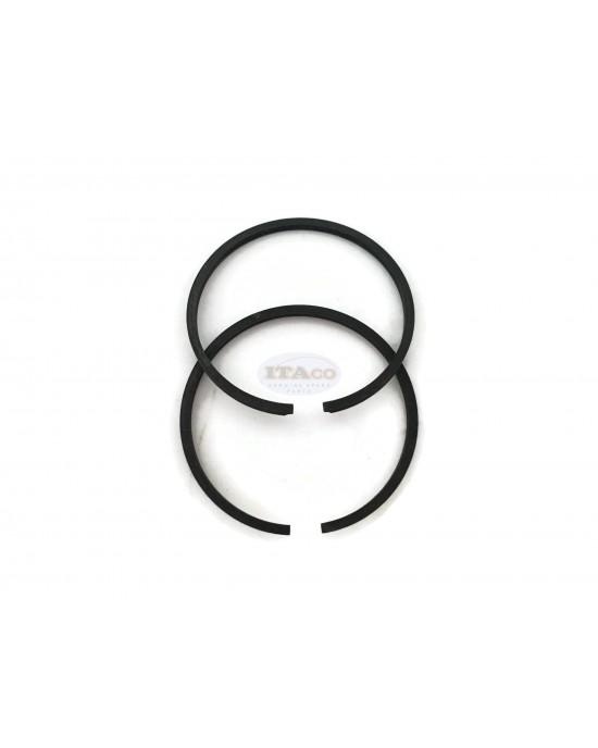 2 pcs Piston Rings Ring Set 32mm x 1.5mm for Husqvarna 322 325 Echo 2300 Zenoah HB2302 Shindaiwa C230 - Replaces 1100-4120 chainsaw brushcutter mistblower Engine