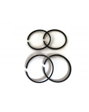 2 sets - Piston Ring Set Rings 34mm x 1.5mm for STIHL FS38 FS45 FS46 FS55 FS75 FS80 FS85 FH75 FR85 FH75 FS 26 - FS 86 - FS 88 Chainsaw EFCO Shibaura SD 26 U/L Brushcutters Motor Engine (2)
