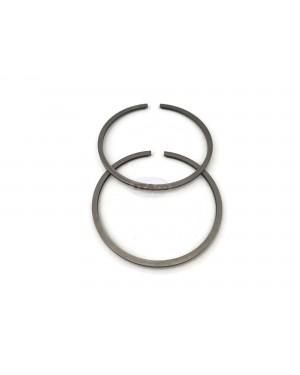 Piston Ring Rings Set 503 28 90-46 49mm x 1.5mm thickness for Husqvarna 460, 570 Dolmar 120 Makita DCS6800 PS 6800 i Oleomac 261 Chainsaw Brushcutters Engine