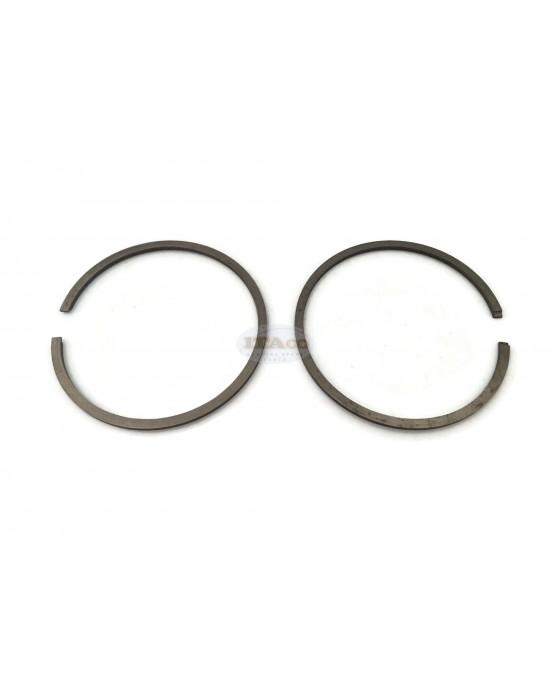 Piston Ring Rings 52MM bore x 1.5MM Thickness for Husqvarna STIHL 038 MS 380 MS381 185 285 CD OLEOMAC 481 Echo 750/802 CIFARELLI L80 - C7 POULAN 5200 DOLMAR 6900 Partner 435/440 Chainsaw Engine