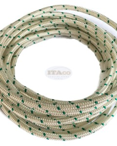 Made in Germany Mylon 5mm Diameter 5meters Stater rope for 2 Cycle / 4 Cycle Chainsaw String Trimmer Lawnmower