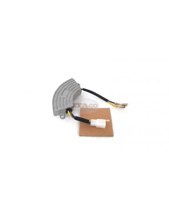 3000 W 3000 Watt Generator AVR Automatic Voltage Regulator Rectifier 3KW Generator AVR Half Moon Black Style