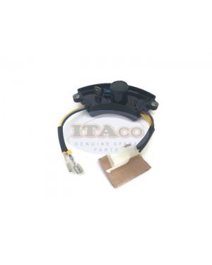 2500 Watt Generator AVR Automatic Voltage Regulator Rectifie Generator AVR 2.5KW PLASTIC Black half-moon