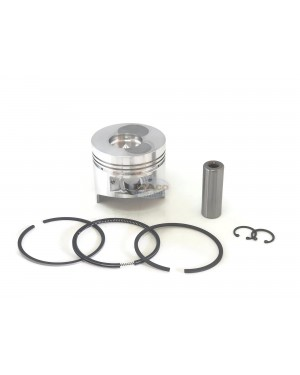 For 86.25mm Bore Chinese 186F 186F 10HP Diesel Engine Piston Kit Assy Ring Set For some 186FA Oversize 0.25 010