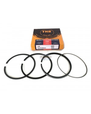 Piston Ring Rings Set 714350-22502 for Yanmar Air Cooled Diesel L60 L60AE 6HP bore Size 75MM Tractor Engine under Japan QC