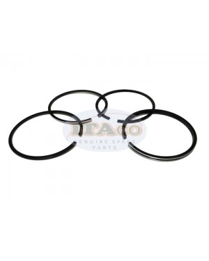 Piston Ring Rings Set 704200-22501 for Yanmar Diesel Forklift TS60 TH4 TF55 75MM Tractor Engine