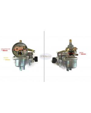 Carburetor Carb 16MM Assy Float Mitsubishi TL33 TB33 TU33 BC330 BG330 Tanaka BG328 SUM328 Brush Cutter Blower Sprayer