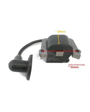 CDI Ignition Module Coil Brush Cutter Mitsubishi TL43 TU43 TL50 TL52 BG430 Trimmer Magneto Stator KE04024AA 2T
