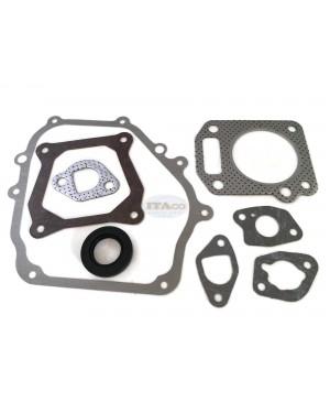 Overhaul Gasket Set Kit w/ Head Gasket for Honda GX120 GX110 4HP 06111-ZE0-405 061A1-ZE0-000 061A1-ZE0-001 061A1-ZE0-010 061A1-ZH7-010 Motor Lawnmower Trimmer Engine