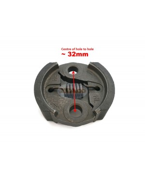 Clutch Assembly 2 Shoes + Spring Zenoah for RedMax 1140-51111 BC2600 BC2300 Mitsubishi TB TL 26 TL26 CG260 Brushcutter Motor Engine