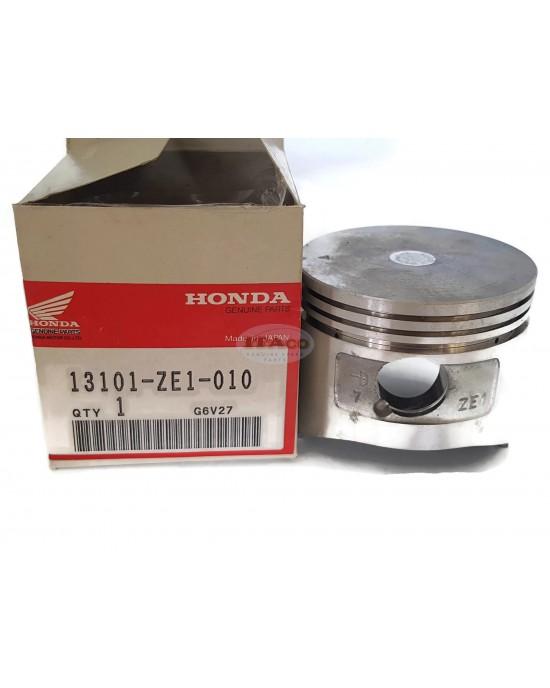 Original OEM Made in Japan Piston 13101-ZE1-010 Replaces Honda GX140 5HP 63MM Lawnmower Trimmer Engine