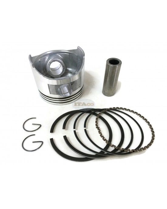 Piston Assy Ring Set 13101-ZE1-010 13010-ZE1-013 014 replaces Honda GX140 5HP 63MM Lawnmower Trimmer Engine