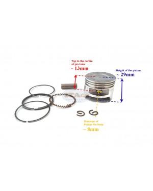 Piston Assy Ring Set Brushcutter for Honda GX35, GX35NT, HHT355- 4 Stroke Engine Brush Cutter Trimmer 39MM 13101-Z0Z-000 Motor Engine