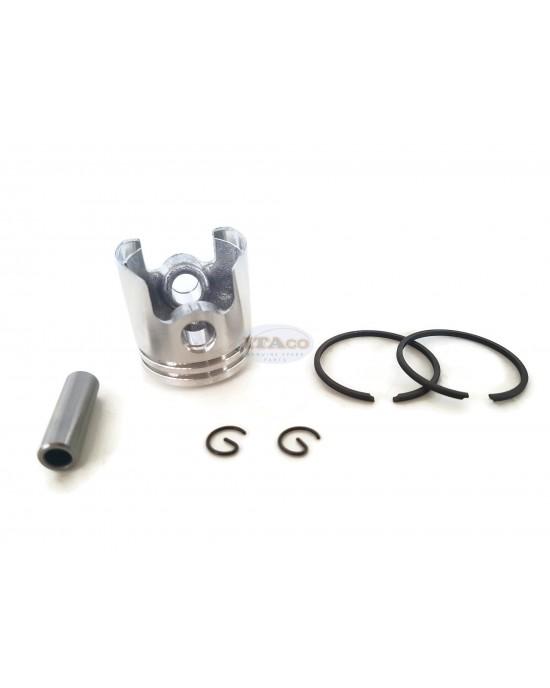 Piston Assy Kolben Ring Set For Mitsubishi Brush Cutter TL23 Tanaka TBC-210-230-240 Strimmer 31mm KP01028AA Grass cutter Trimmer Motor Engine