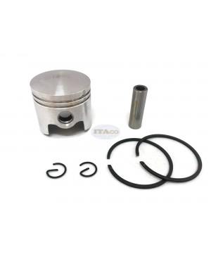 Piston Kit Ring Set KP01029AA For Mitsubishi TL43 TB43 TU43 BG430 40MM 1E40F-5/40-5/40F-5 Series Trimmer 42.7 cc 2 Stroke