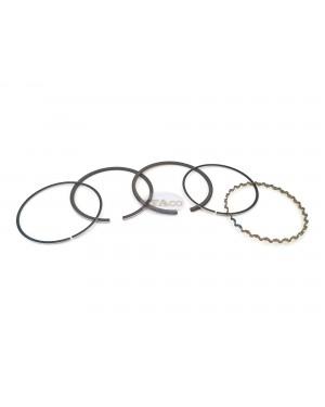 Made in Japan OEM Genuine 13012-YA1-003 O/S 0.50 for Honda G300 E2500 EB3000 EM3000 FR700 HS70 WT30 Piston Ring Rings Set 76.5MM