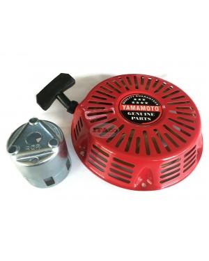 Recoil Starter Pull Start Assy w/ Cup Pulley 28400-ZE3-W01ZA For Honda GX340 GX390 11hp 13hp Motor Lawnmower Generator