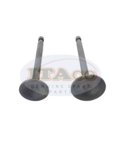 Exhaust Valve Intake Valve Suction EX IN 227-33501-03 227-33401-03 for Robin Subaru EY20 5hp Motor Lawnmower Trimmer Engine