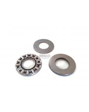 Boat Motor 93341-214U1 Thrust Washer Set Bearing Flat for Yamaha Outboard F 8HP 9.9HP 15HP 2/4-stroke Engine