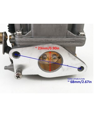 Boat Motor 6D4-14301-00 F15-07090000 Carburetor Carb Assy For Yamaha Parsun Outboard some 9.9HP 15HP 4-stroke Engine