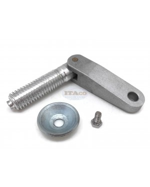 """Boat Motor For Yamaha Outboard 6G1-43116 6E0-43118 648-43114 Clamp Screw Assembly set Transom Pad Plate Swivel Pin 5/8""""UC size threading 15.85mm Motor Engine"""