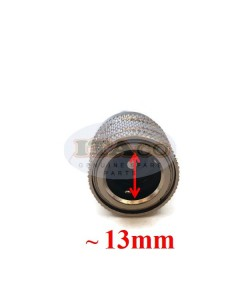 """Boat Motor Tank Fuel Line Connector 65750-95500 65750-95510 For Suzuki Outboard In Female DT DF 4 - 140 HP 18-8062 1/4"""" ID 13MM"""