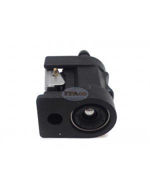 """Boat Motor Fuel Line Connector Pipe Joint 1/4"""" 6MM For Yamaha Parsun Outboard 6Y1-24305 0 2/4-stroke Motor Engine"""