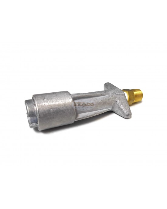 """Boat Outboard Motor Die Cast Tank Adapter Connector for Mercury Outboard Tank Adapter 1/8""""-1/4"""" Npt Aluminium Engine"""