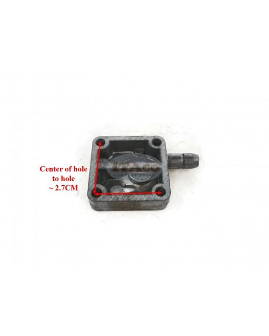 Fuel Pump Body 6E0-24412-00 for Yamaha Outboard Carburetor 4HP 5HP 2 stroke Boat