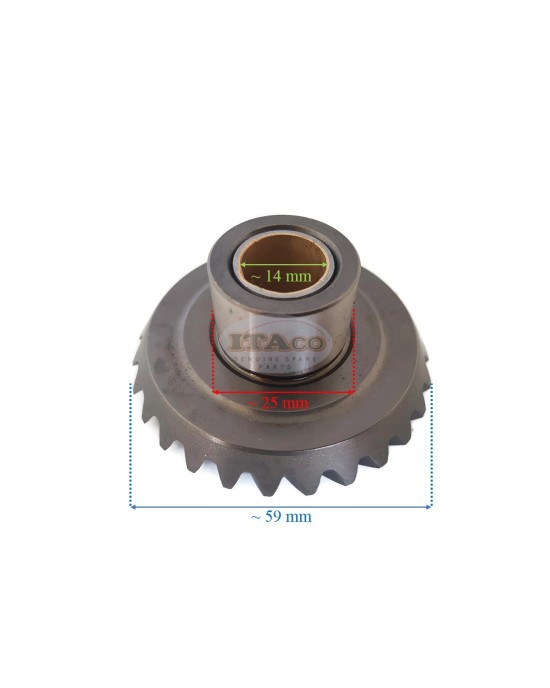 Boat Motor Outboard Forward Gears Pinion Set Kit for Parsun HDX Makara T9.9 T15 BM 2-Stroke Outboard Engine