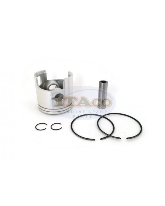 Piston Kit Ring Set 66T-11631 For Yamaha Outboard Enduro 40HP E 40 X MH 2T 80MM