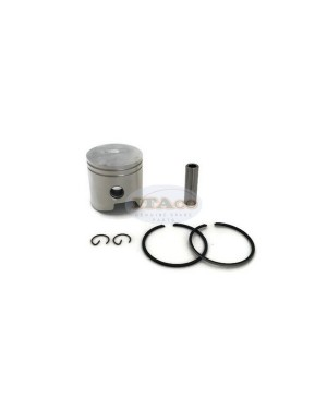 """Piston with Pin Clip Outboard 9.9HP 10HP 15HP 9.9 10 15 2.375/"""" 0436901 436901"""