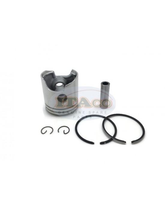 Boat Motor Piston Assy Ring Set 6E7-11631 682-11610 T15-04020202 For Yamaha Parsun Makara Outboard 9.9HP 15HP 56MM 2-stroke STD Motor Engine