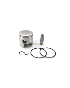 6F6-11630 6F6-11636 OS 0.50 Piston Assy Ring Set For Yamaha Outboard K E 40HP 2T
