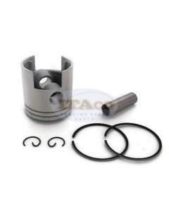 Boat Motor 6G0-11631 11630 20HP 25HP Piston Assy Ring Set For Yamaha Outboard 67MM STD 2-stroke Engine