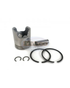 Boat Motor Piston Kit Ring Set Pin & Clip 6H4-11631 00 01 95 11630 18-4144 for Yamaha Sierra Outboard 3 Cyl 40HP 50HP 67MM 2-stroke 2 rings Engine