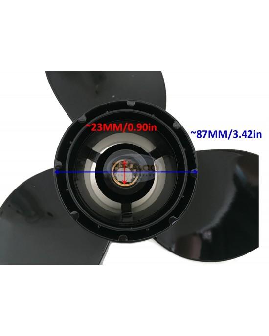 "Boat Motor Aluminum Propeller 3 X 10 1/4"" X 11 K 58100-96420 for Suzuki DT DF 25HP 30HP Outboard Motor 2/4 stroke Engine"