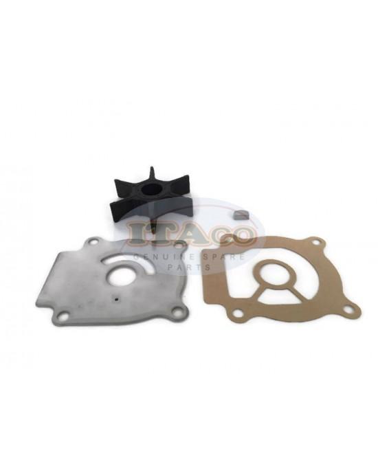 Boat Outboard Motor Water Pump Repair Plate Gasket Impeller Kit Sierra 18-3242 17400-96403 17400-96402 17400-94412 for Suzuki Outboard DT30 25HP 30HP 2-stroke Engine