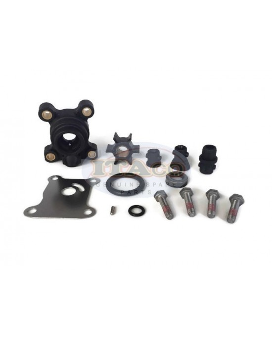 Boat Outboard Motor Water Pump Kit for Johnson Evinrude OMC 1974-UP 9.9-15 HP OEM 394711 18-3327 386697 391698 389112 387610 Engine
